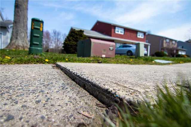Sinking Concrete Leveled in Hamilton Township, NJ