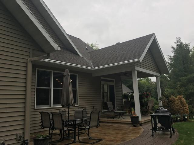 Homeowner in Wausau Wants No Maintenance Gutters that Also Enhance the Look...