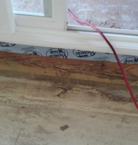 Termite Damage at Retirement Community in Berkeley Township, NJ