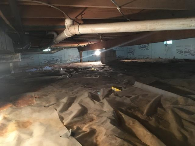 Crawl Space Makeover in Princeton, IN