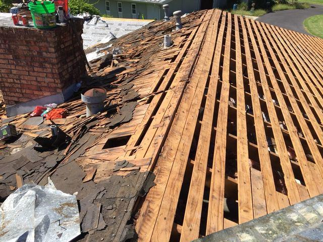 Multi-Layer Roof Removal and New OSB Decking for Victoria, Texas Home