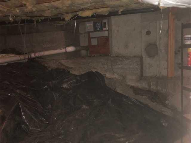 Wet Walk-in Crawl Space Fixed in Post Falls, ID