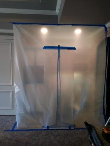 Residential Mold Removal - Mold under sink in Southlake, TX