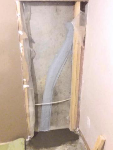 Crack Repaired Utilizing Flexispan in SW Calgary, AB