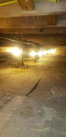 Crawl Space Foundation Repair in Harvard, MA
