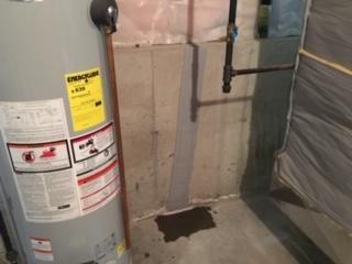 Basement Crack Repair in Lancaster, MA