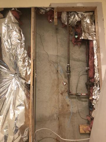 Wall Crack Repair in...