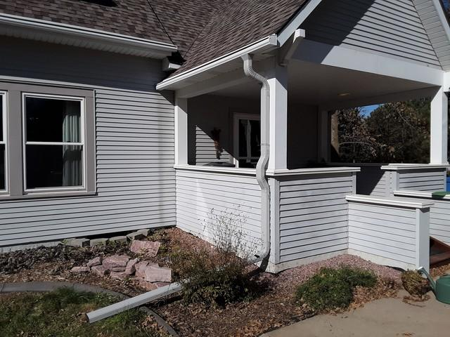 Custom LeafGuard® Downspout Watertown South Dakota