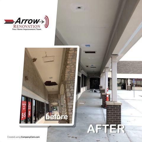 Grandview Gateway Strip Mall Renovations in Grandview, MO