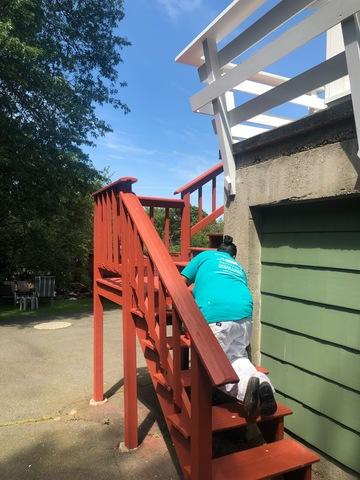 Exterior Painting and Deck Stain in Trumbull, CT