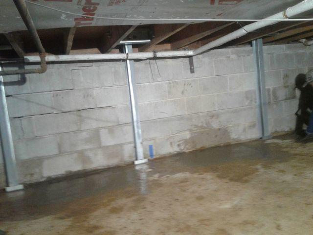 Crawl Space Foundation Repair in Freehold, NJ
