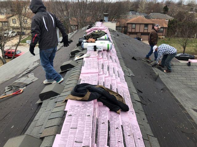 Insurance Claim for Roof Repair & Vents in Olathe, KS