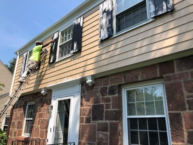 Exterior Painting and Deck Staining in North Haven, CT