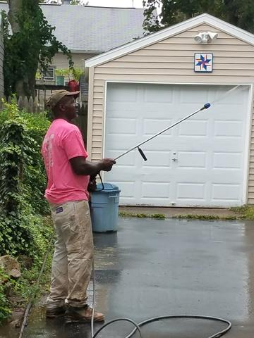 Power Washing for Property Mangement Company in Branford, CT