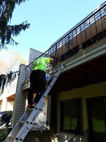 Multi-Residential Deck Staining in Cromwell, CT