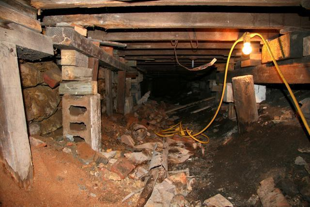 Crawlspace Repaired in Lewisville, ID