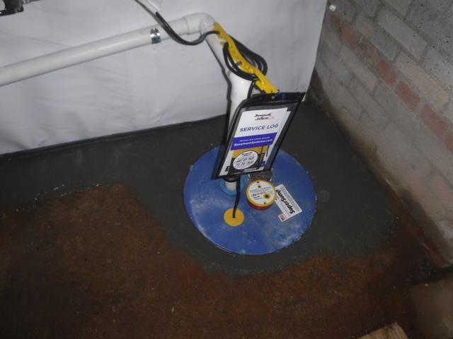 Greenville, SC basement gets WaterGuard