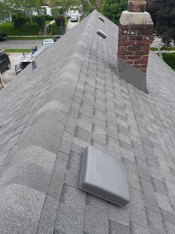 Roof Replacement (Tamko Shingles), Chimney Flashing & 5