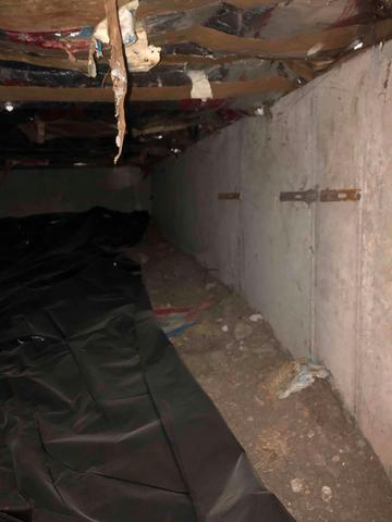 Severe sagging floors and settlement in Downey, ID