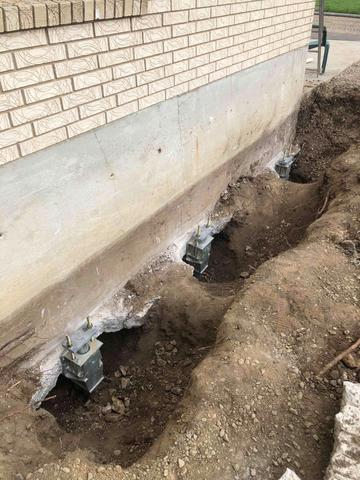 Helical Piers to fix it in Grace, ID