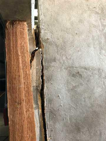 Extreme foundation issues in Bruneau, ID