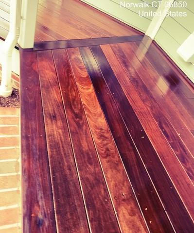 Deck Staining in Norwalk, CT