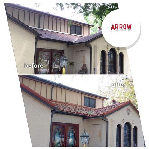 Roof Replacement with DECRA Villa Metal Roof in Kansas City, KS