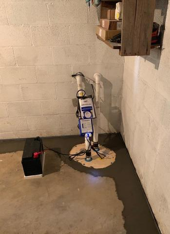 Basement Waterproofing - Rockville,MD