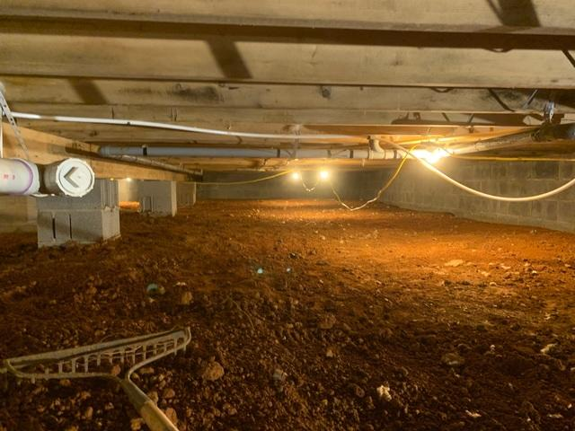 Crawl Space Encapsulation - Culpeper,VA