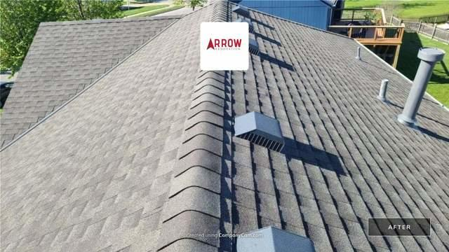 Roof Replacement on Kansas City, MO Home along with New 5 Inch Gutters