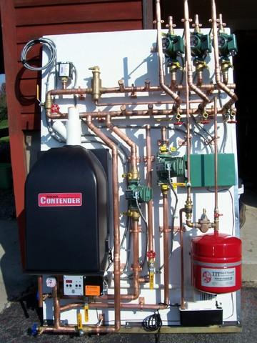 Halco Installs a Munchkin Boiler/Zoning Board for NY Home