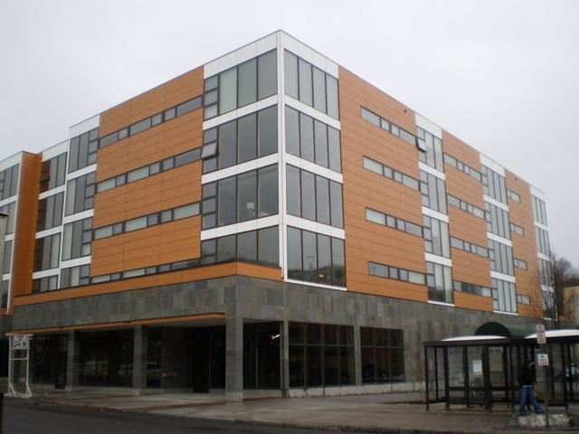 Plumbing and HVAC System Designed for the Cayuga Green Apartments in Ithaca...