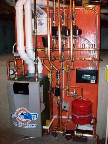 Ithaca, NY Homeowner Has A New Peerless Purefire Condensing Boiler