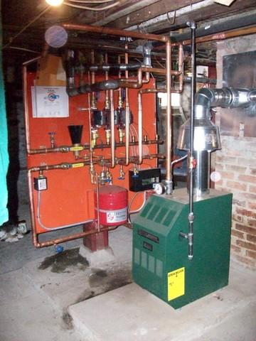 Halco Installs Williamson Boiler / Zoning Board in Cortland, NY