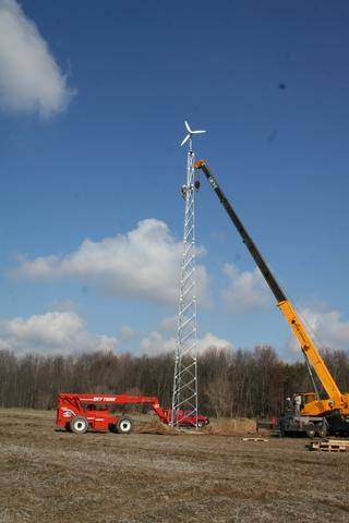 Phelps, NY Home Now Has a 2.5 kW Wind System