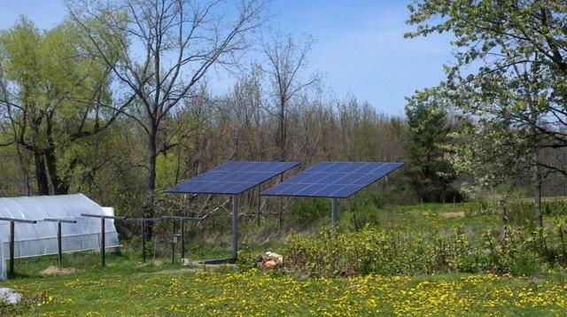 6.9 kW Solar Electric System Installed in Hector, NY