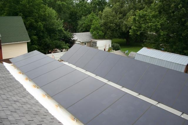 Seneca Falls, NY Customer's New 5.4 kW Solar Electric System