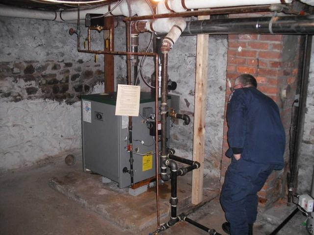 Peerless Steam Boiler Replacement for Williamson, NY Customer