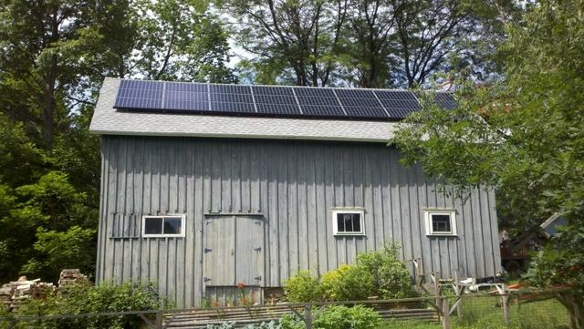 5.52 kW Solar Electric System Installation in Dryden, NY