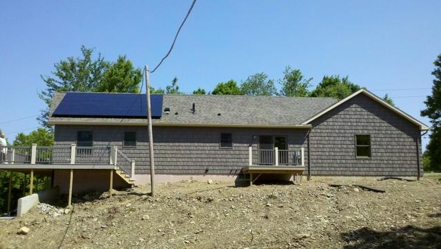 4.5 kW Solar Electric System for Dansville, NY Customer