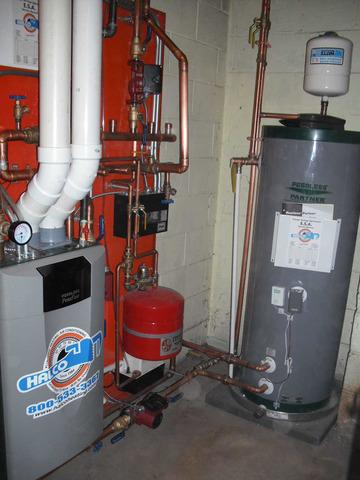 Weedsport, NY Animal Hospital: Peerless Pure Fire Boiler