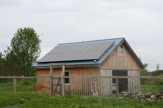 Halco Installs 4.14 KW Solar Electric System in Trumansburg, NY