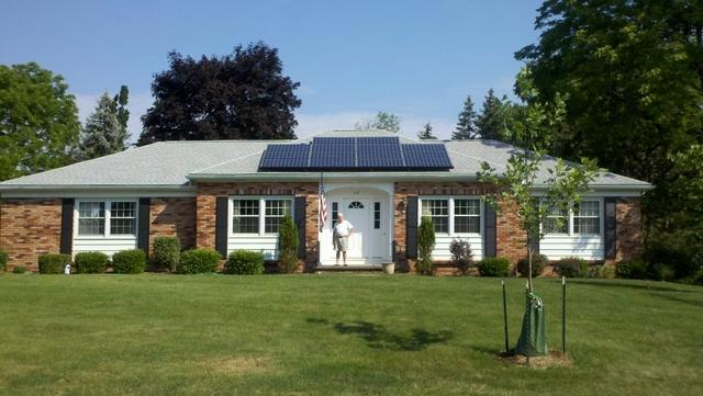 3.22 kW Solar Electric System Installed in Canandaigua, New York