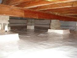 Mold and Odors Resolved With Crawl Space Encapsulation