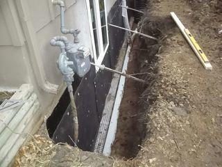 Waterproofing and Bowed Wall Repair