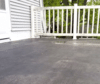 EPDM Flat Roof Porch + Gutters in Hales Corners