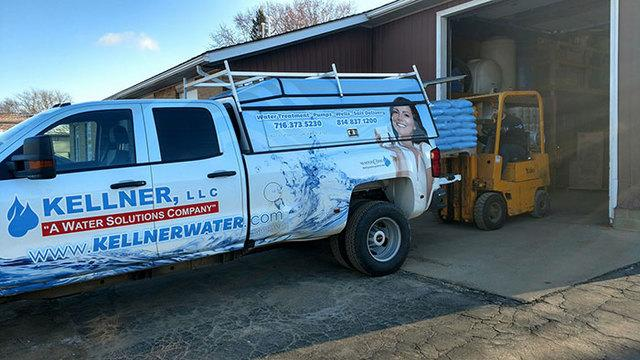 Kellner LLC Salt Delivery Truck