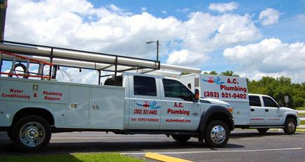 A.C. Plumbing Vehicles