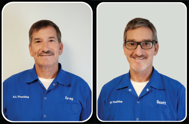 Greg and Scott from A.C. Plumbing