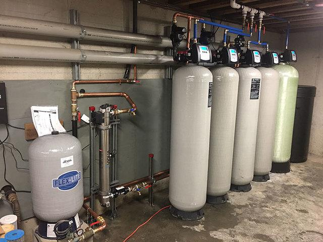 commercial installed water treatment